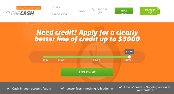 ClearCash - Loans up to $3 000