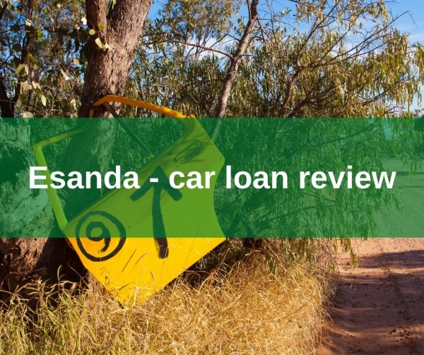 Esanda - car loan review