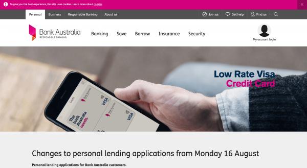 Bank Australia Limited