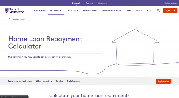 Bank of Melbourne Home Loan review