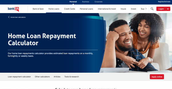 BankSA Home Loan review