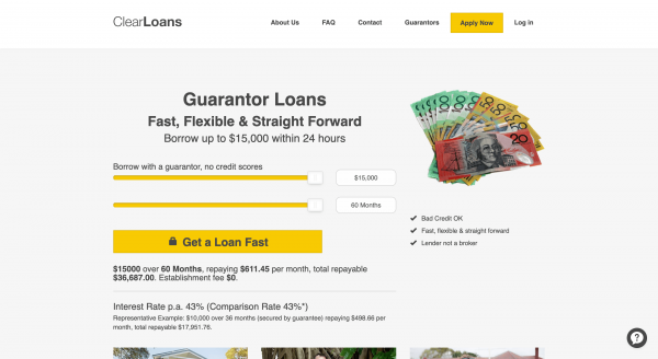 ClearLoans - Loans up to $15 000