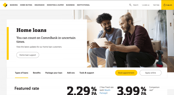 Commbank Home Loan review