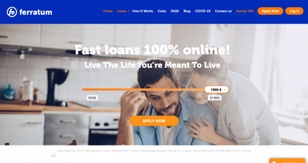 Ferratum - Loans up to $1 900