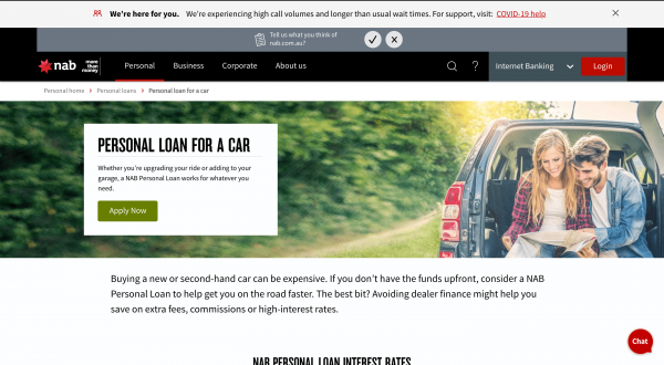 NAB - Car Loan review