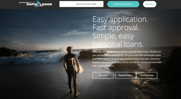 Rapid Loans - Personal loans up to $10 000